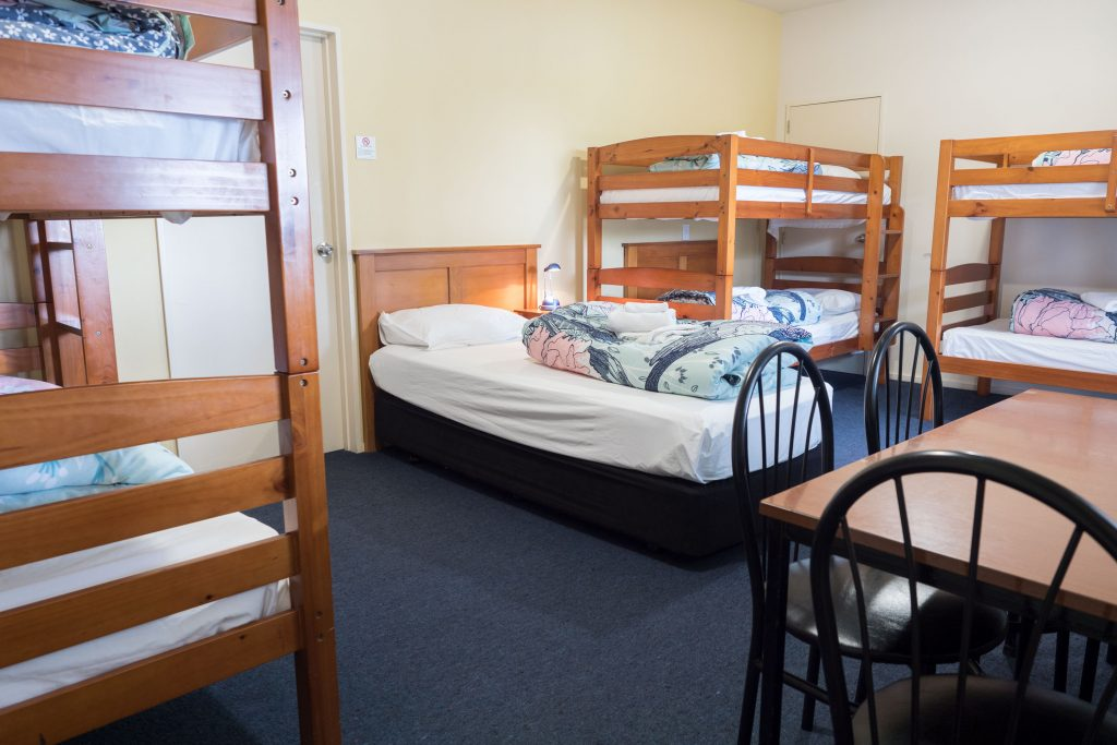 Haast River Motels & Holiday Bunk Room interior